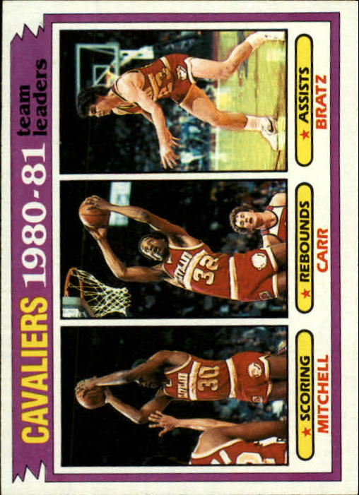 1981-82 Topps #47 Mike Mitchell/Kenny Carr/Mike Bratz TL