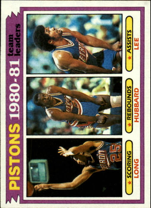 1981-82 Topps #50 John Long/Phil Hubbard/Ron Lee TL