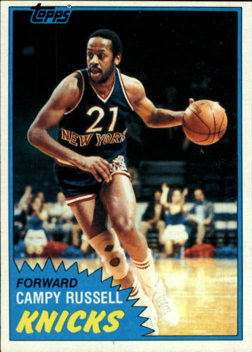 1981-82 Topps #E84 Campy Russell