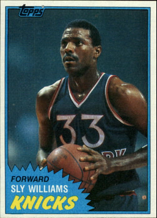1981-82 Topps #E88 Sly Williams