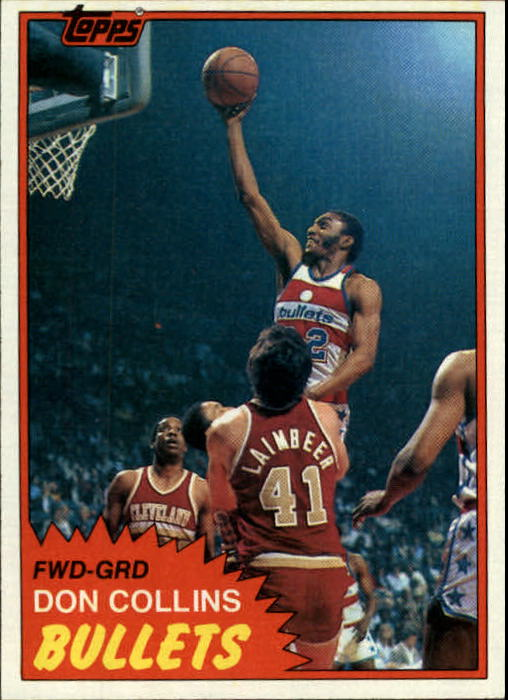 1981-82 Topps #E95 Don Collins