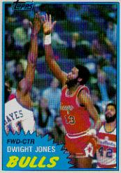1981-82 Topps #MW68 Dwight Jones