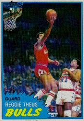 1981-82 Topps #MW69 Reggie Theus