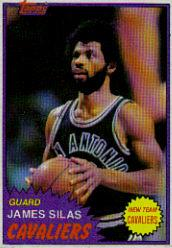 1981-82 Topps #MW105 James Silas