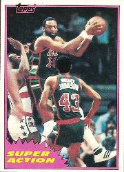 1981-82 Topps #MW109 Bob Lanier SA
