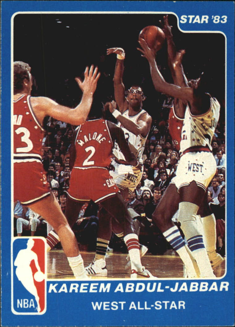 1983 Star All-Star Game #14 Kareem Abdul-Jabbar