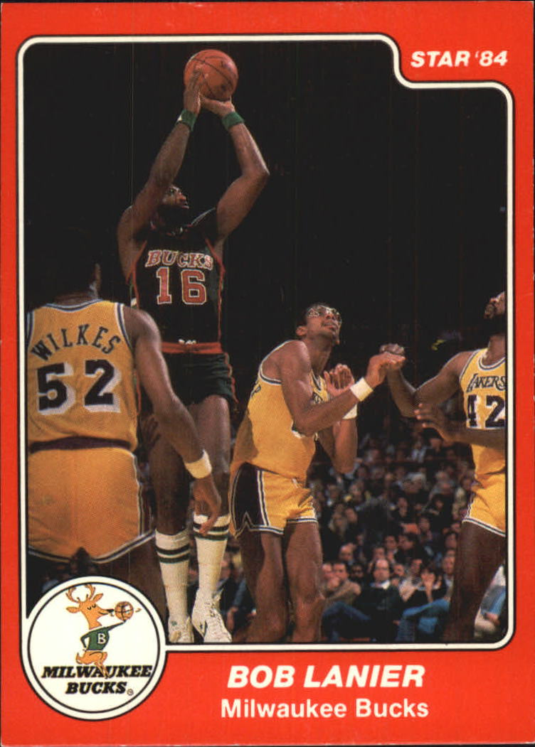 1983-84 Star #45 Bob Lanier SP