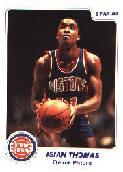 1983-84 Star #94 Isiah Thomas XRC