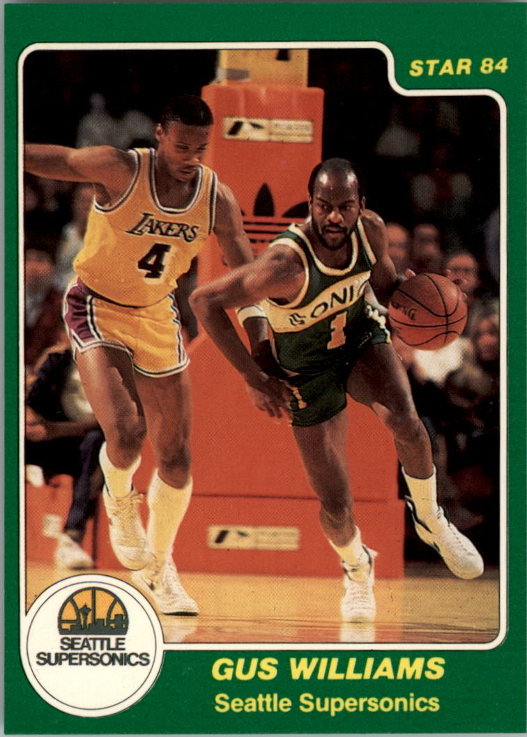 1983-84 Star #202 Gus Williams