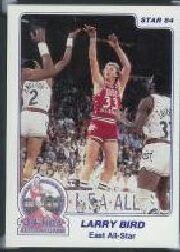 1984 Star All-Star Game #2 Larry Bird