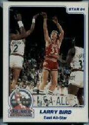 1984 Star All-Star Game Denver Police #2 Larry Bird