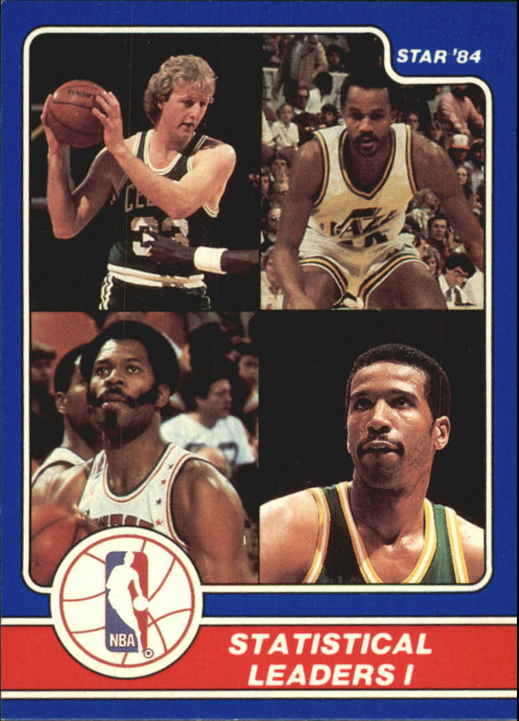 1984 Star Award Banquet #10 Larry Bird LL/Darrell Griffith LL/Artis Gilmore LL/Adrian Dantley LL