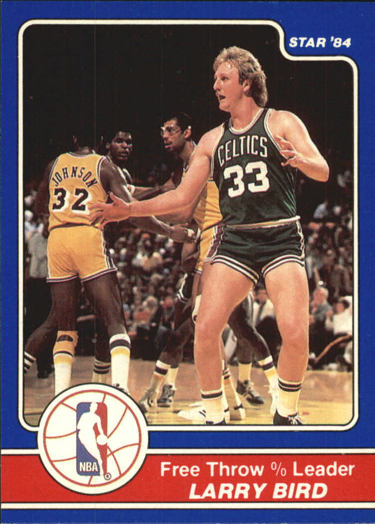 1984 Star Award Banquet #15 Larry Bird LL