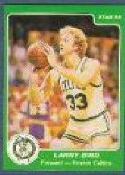 1984-85 Star #1 Larry Bird