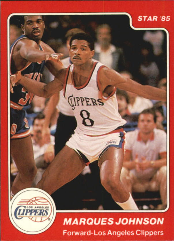 1984-85 Star #13 Marques Johnson