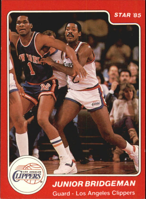 1984-85 Star #14 Junior Bridgeman