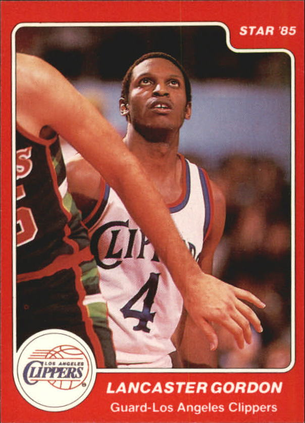 1984-85 Star #18 Lancaster Gordon