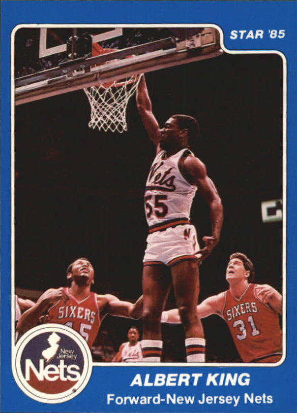 1984-85 Star #93 Albert King
