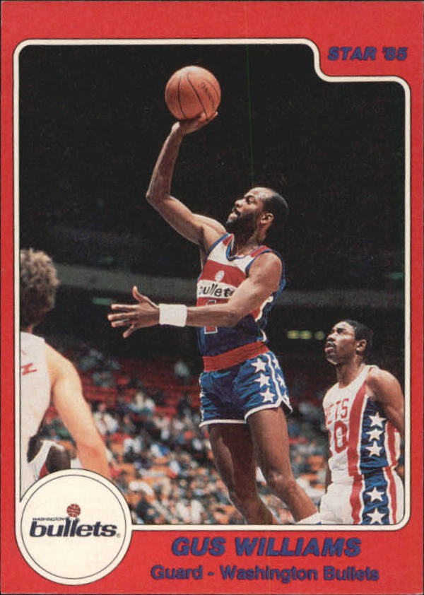 1984-85 Star #185 Gus Williams