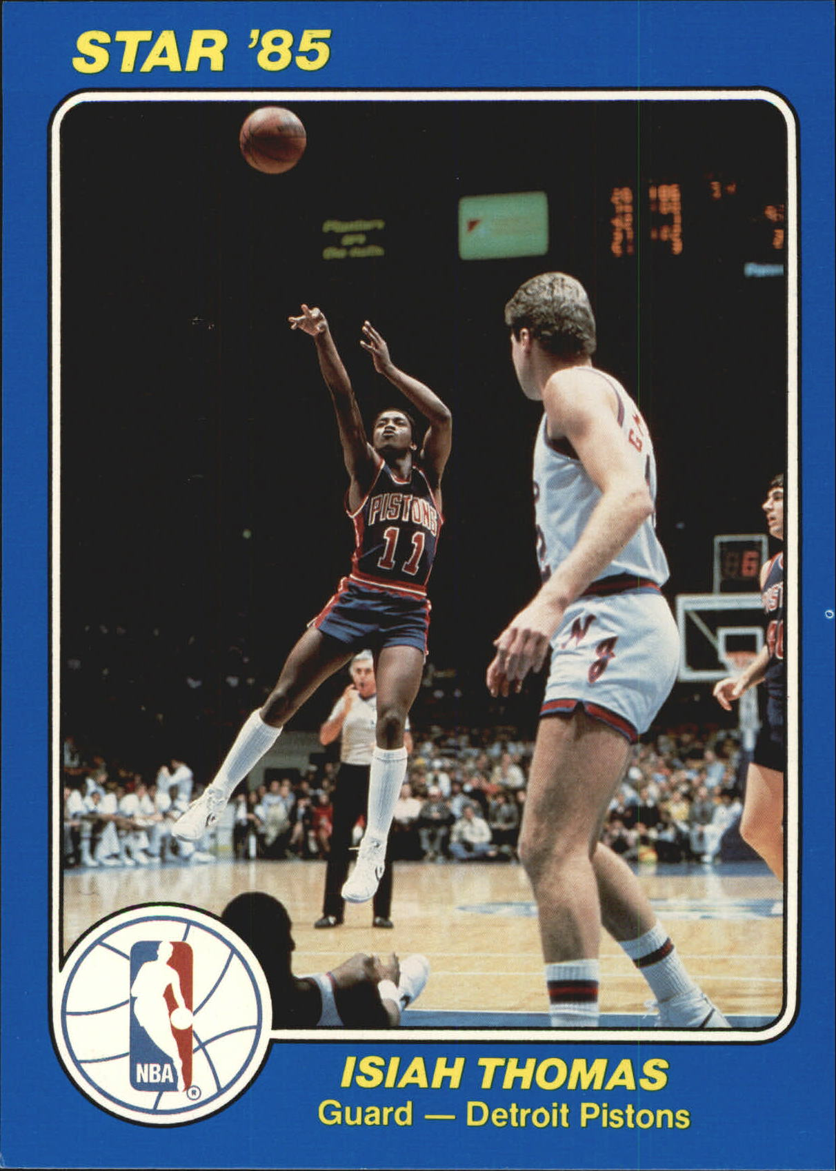 1984-85 Star Court Kings 5x7 #30 Isiah Thomas