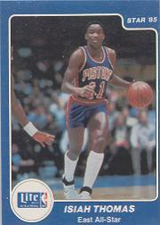 1985 Star Lite All-Stars #6 Isiah Thomas