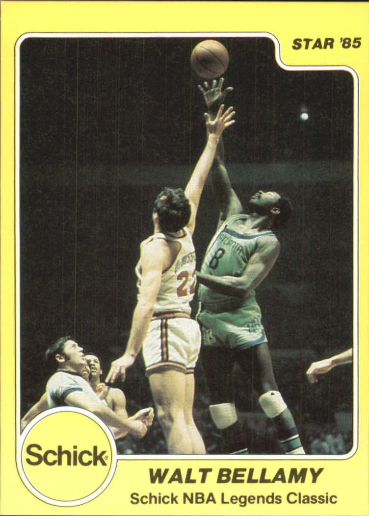 1985 Star Schick Legends #4 Walt Bellamy