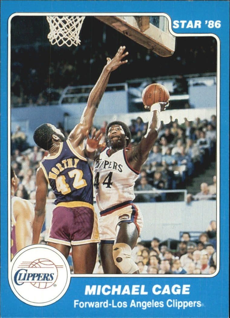 1985-86 Star #89 Michael Cage