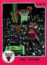 1986 Star Michael Jordan #10 Michael Jordan/The Future
