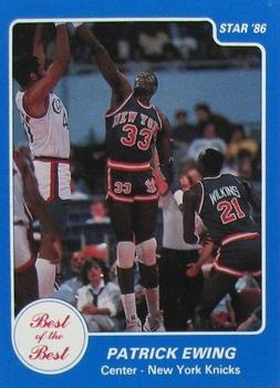 1986 Star Best of the Best #7 Patrick Ewing