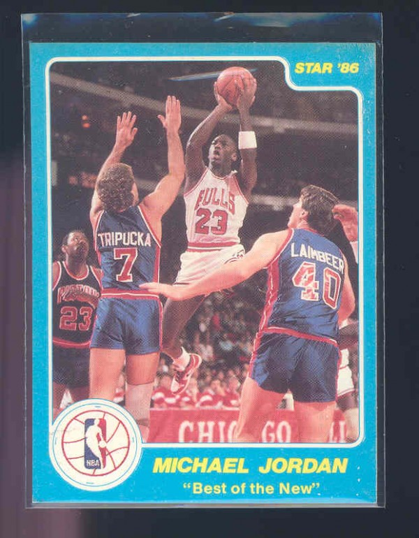 1986 Star Best of the New/Old #2 Michael Jordan