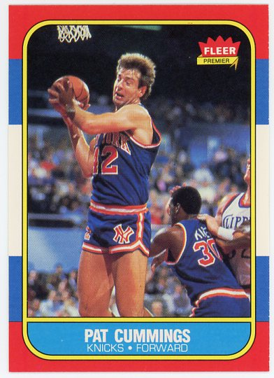 1986-87 Fleer #19 Pat Cummings