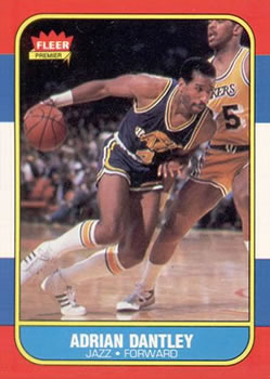 1986-87 Fleer #21 Adrian Dantley