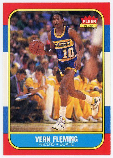 1986-87 Fleer #33 Vern Fleming RC