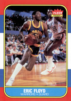 1986-87 Fleer #34 Sleepy Floyd RC