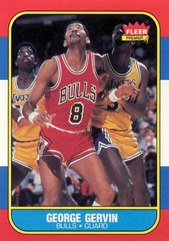 1986-87 Fleer #36 George Gervin