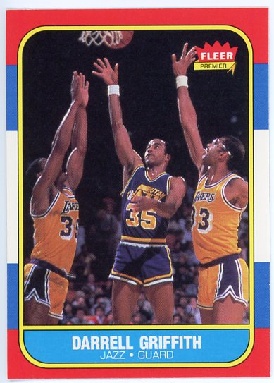 1986-87 Fleer #42 Darrell Griffith