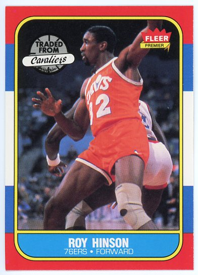 1986-87 Fleer #46 Roy Hinson
