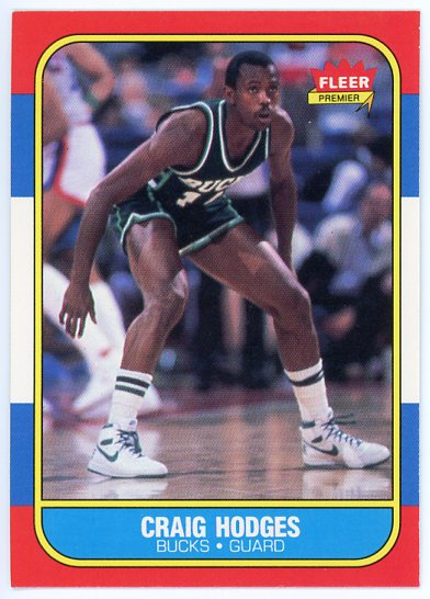 1986-87 Fleer #47 Craig Hodges RC