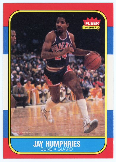 1986-87 Fleer #49 Jay Humphries RC