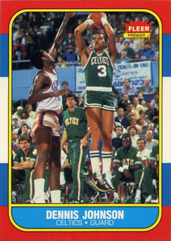 1986-87 Fleer #50 Dennis Johnson