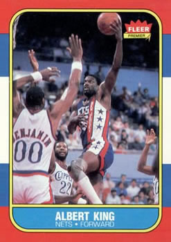1986-87 Fleer #59 Albert King