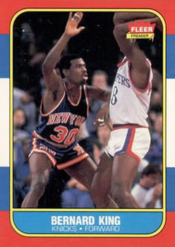 1986-87 Fleer #60 Bernard King