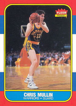 1986-87 Fleer #77 Chris Mullin RC