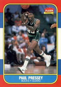 1986-87 Fleer #88 Paul Pressey RC