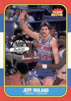1986-87 Fleer #96 Jeff Ruland