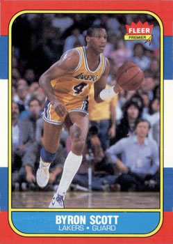 1986-87 Fleer #99 Byron Scott RC