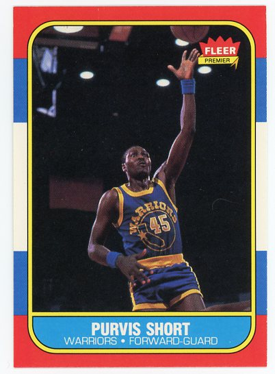 1986-87 Fleer #100 Purvis Short