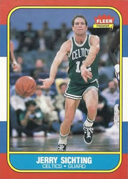 1986-87 Fleer #101 Jerry Sichting