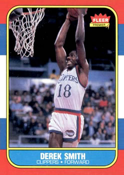 1986-87 Fleer #103 Derek Smith