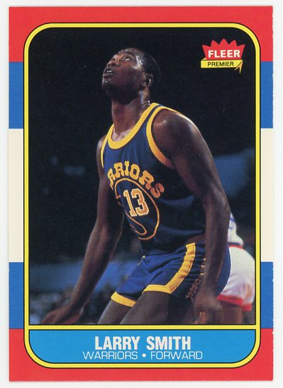 1986-87 Fleer #104 Larry Smith